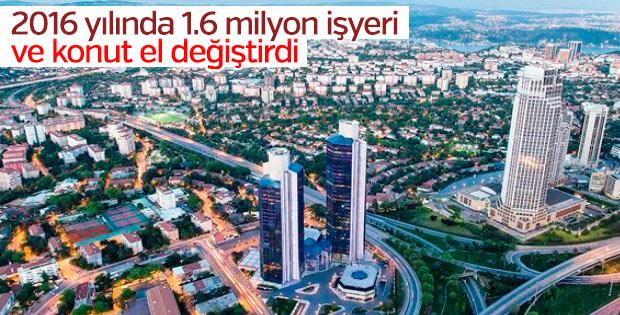 1 milyon 567 bin bağımsız bölüm el değiştirdi