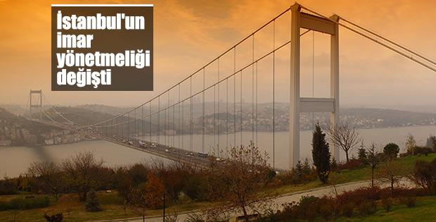 İstanbul'un imar yönetmeliğinde değişikliğe gidildi