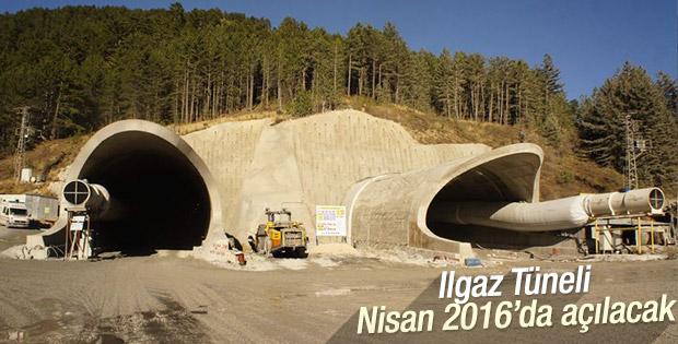 Ilgaz Tüneli Nisan 2016'da açılacak