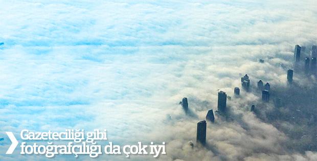 Hakan Çelik'in objektifinden sisli İstanbul
