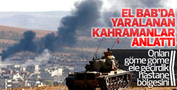 Askerlerin ağzından El-Bab'daki çatışmada yaşananlar