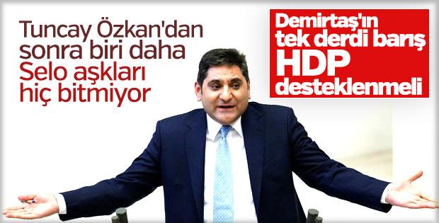 Aykut Erdoğdu Selahattin Demirtaş'ı destekledi