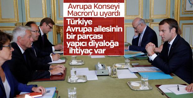 Jagland'dan Macron'a Türkiye uyarısı
