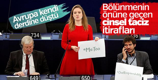 Avrupa Parlamentosu'nda cinsel taciz oturumu