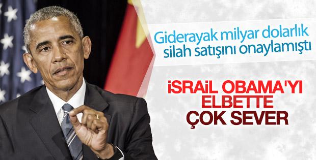 İsrail'den Obama'ya veda mesajı