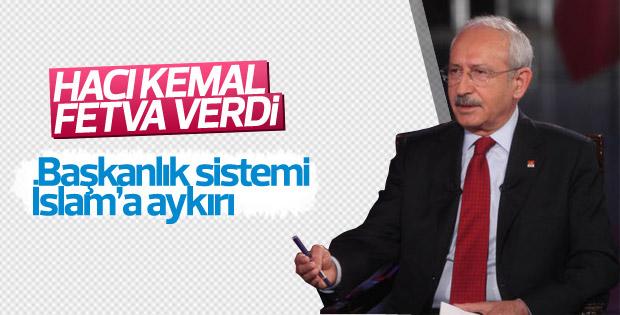 Kılıçdaroğlu: Bu anayasa İslam'a aykırı