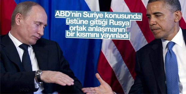 Rusya'dan ABD'ye Suriye için samimiyet çağrısı