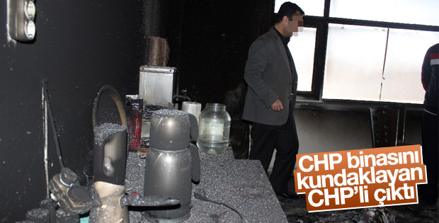 Kılıçdaroğlu'na kızıp CHP binasını kundaklamış