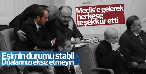 Saffet Sancaklı Meclis'te konuştu