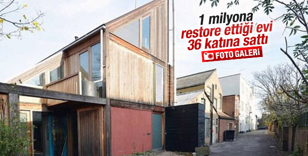 Harabeyi 1 milyon dolara restore etti