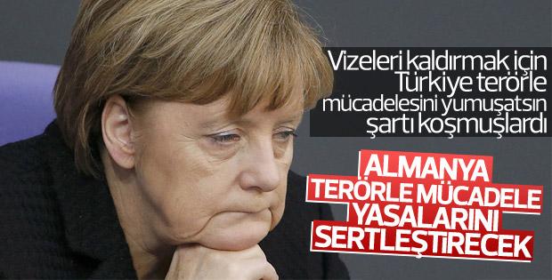 Almanya'da terörle mücadele yasaları sertleştirilecek