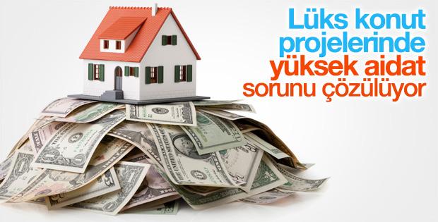 Lüks konut projelerinde yüksek aidat sorunu çözülecek