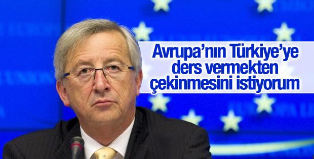 AB Komisyonu Başkanı Juncker'den Türkiye açıklaması