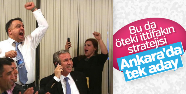 CHP ile İyi Parti Ankara ittifakı için görüşüyor