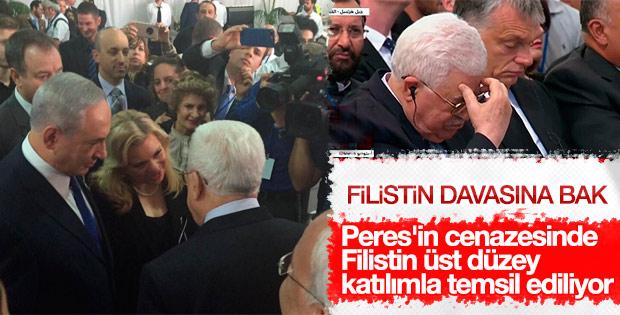 Mahmud Abbas Şimon Peres'in cenazesine katıldı