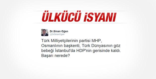 MHP'li Sinan Oğan'dan partisine eleştiri