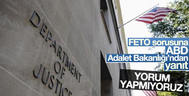 ABD Adalet Bakanlığı'nın FETO sessizliği