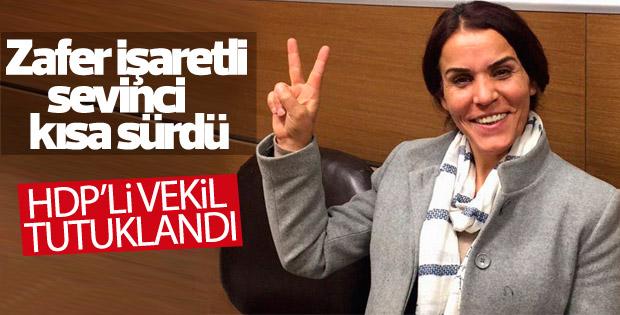 HDP'li Besime Konca tutuklandı