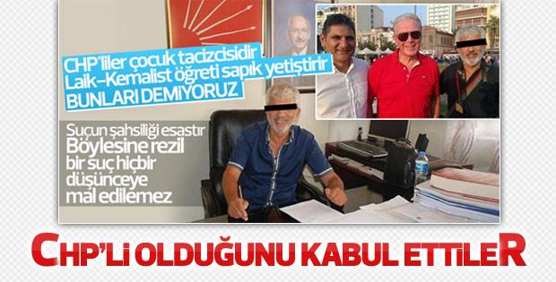 İstismardan tutuklanan CHP üyesine ihraç