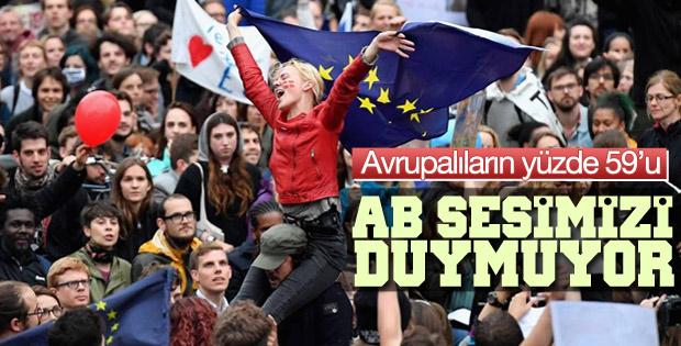 Avrupa Birliği Avrupalıların sesini duymuyor