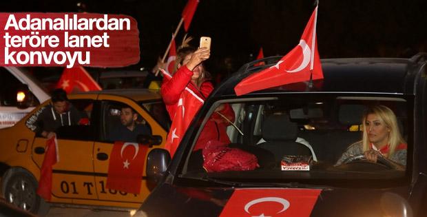 Adana'da valiliğe yapılan saldırı protesto edildi