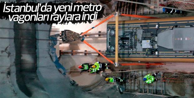 Üsküdar-Çekmeköy metro hattının rayları indirildi