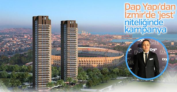 Dap Yapı'dan İzmir'de 'jest' niteliğinde kampanya