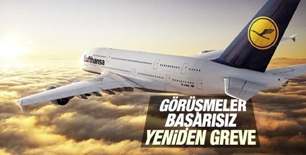 Lufthansa pilotlarından yeniden grev kararı