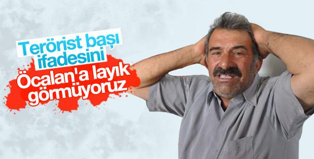Mehmet Öcalan: Terörist başı lafını doğru bulmuyoruz