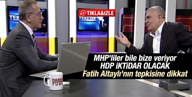 Müslüm Doğan: MHP'liler de bize verecek