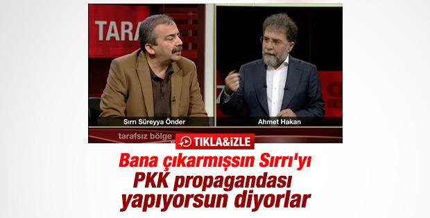 Sırrı Süreyya Önder Ahmet Hakan'a konuk oldu