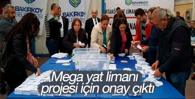 Ataköy'deki mega yat limanı projesi için onay çıktı