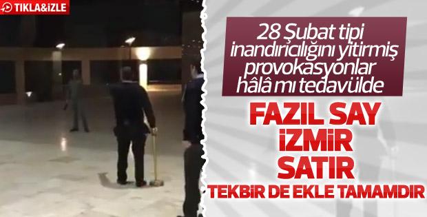 İzmir, Fazıl Say, satır, tekbir hepsi aynı haberde