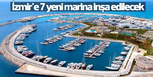 İzmir'e 7 yeni marina inşa edilecek