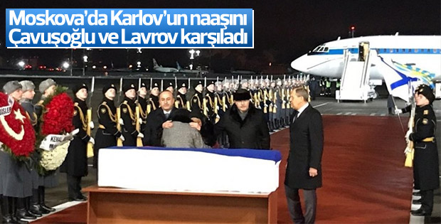 Karlov'un naaşı Moskova'ya ulaştı