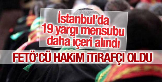 İstanbul'da 19 hakime tutuklama talebi