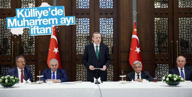 Cumhurbaşkanı Erdoğan Muharrem ayı iftarı verdi