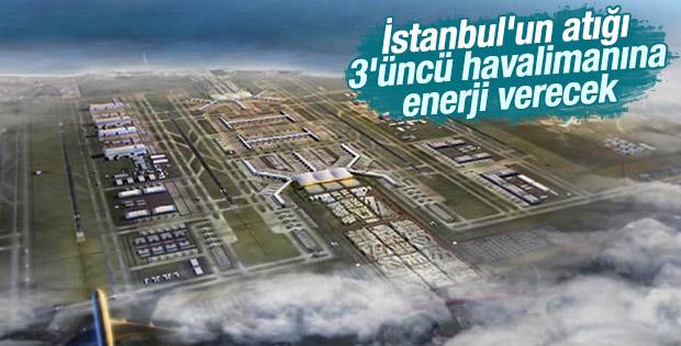 İstanbul'un atığı 3'üncü havalimanına enerji verecek