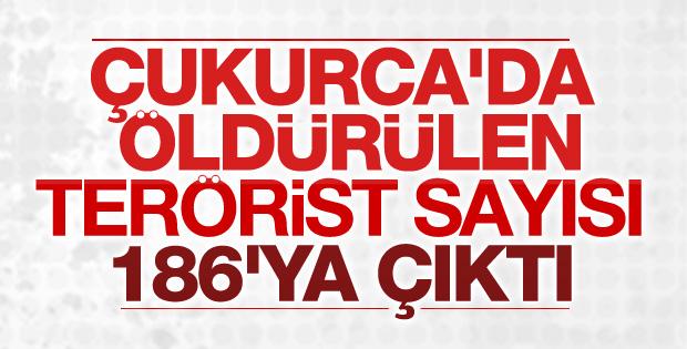 Çukurca'da PKK'ya ağır darbe