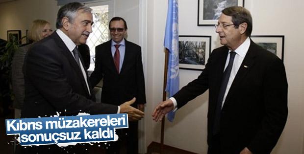 İsviçre'de Kıbrıs müzakerelerinden sonuç çıkmadı