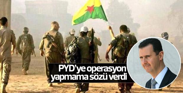 Rejimden PYD'ye dokunmama sözü