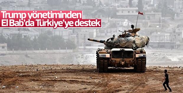 ABD'den El Bab'da Türkiye'ye destek açıklaması