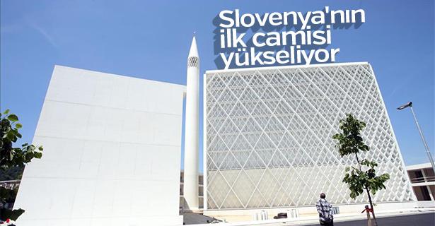 Slovenya'nın ilk camisi yükseliyor