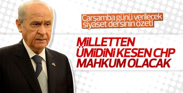MHP Lideri Bahçeli'den gündeme ilişkin açıklamalar