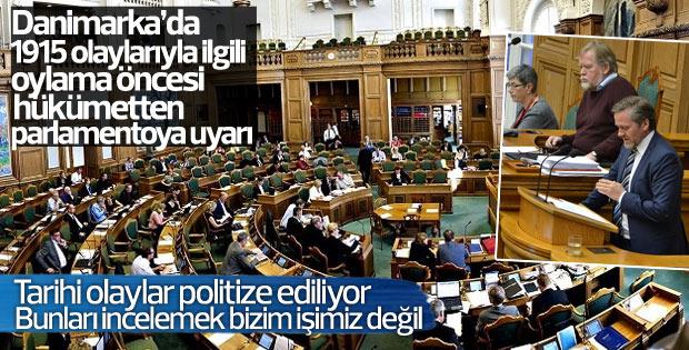 Danimarka Parlamentosu'nda Ermeni iddiaları görüşmeleri
