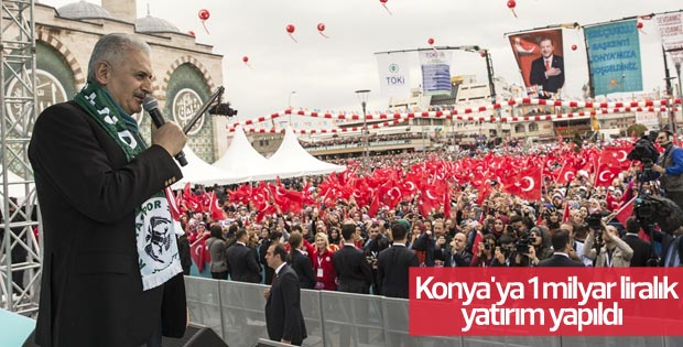 Konya'ya 1 milyar liralık yatırım yapıldı