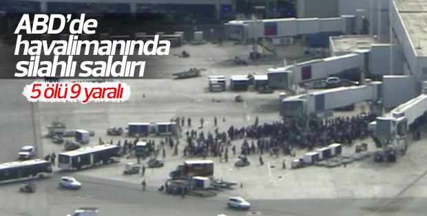 ABD'de havalimanında silahlı saldırı