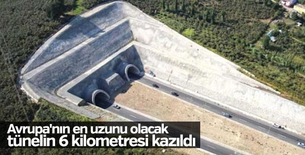 Yeni Zigana Tüneli kazılıyor