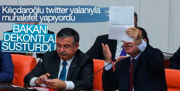 Bozdağ'dan Kılıçdaroğlu'na dekontlu cevap