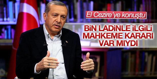 Cumhurbaşkanı Erdoğan El Cezire'ye konuştu